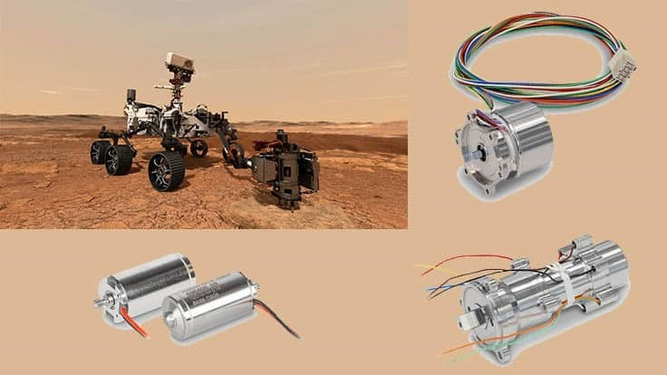 NASA's Perseverance rover is heading to Mars with maxon drives