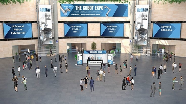 Universal Robots launches virtual cobot expo