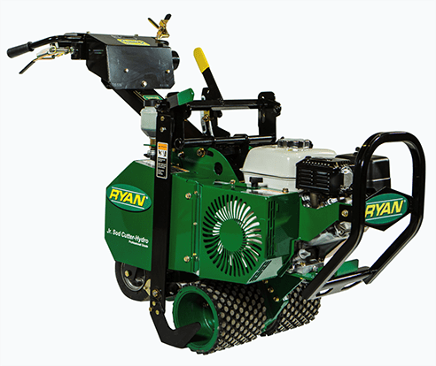 RYAN adds new Jr. Sod Cutter - Hydro to turf renovation products