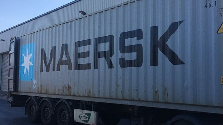 Maersk joins shipping lines avoiding scrap to China