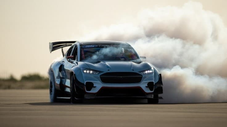 Ford unveils second 1,400hp electric Mustang