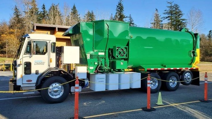 Anchorage, Alaska, awarded grant to fund first electric garbage truck