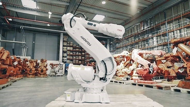 Robot remanufacturing for a second life