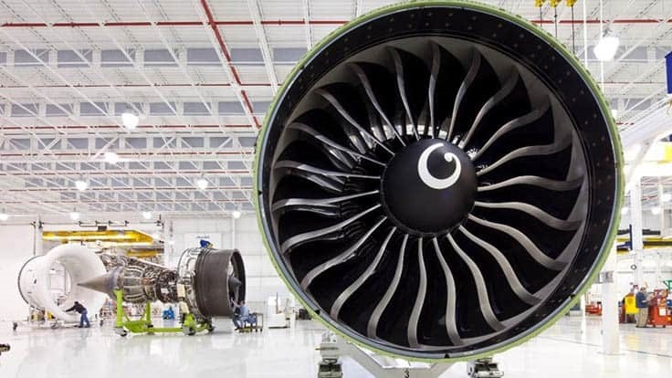 GE90 engine surpasses 100 million hours