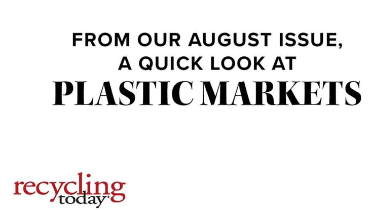 Plastic Market Report: August 2020