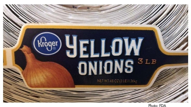 Sweet Yellow Onions Recalled Due to Possible Salmonella Risk