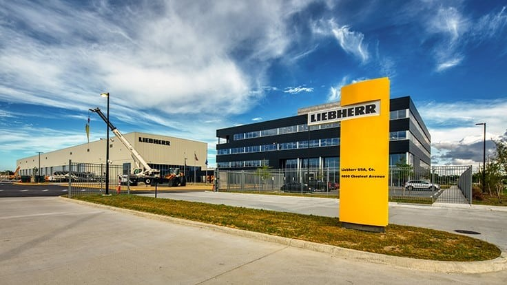 Liebherr opens newly expanded corporate headquarters