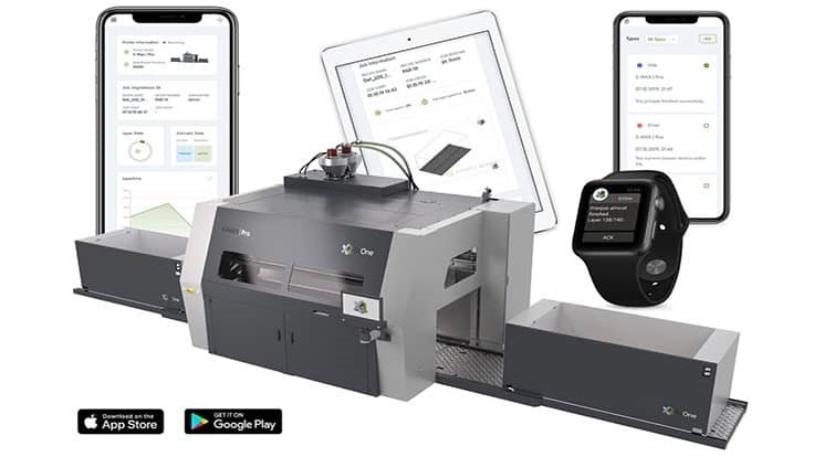 ExOne launches app to monitor industrial 3D printers