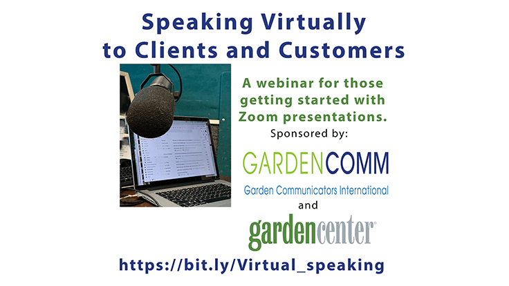 WEBINAR: Speaking virtually to clients and customers
