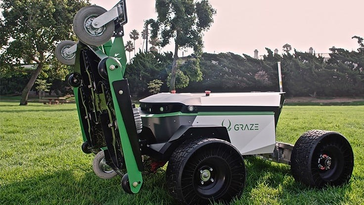 Company funded by venture capitalists introduces autonomous mower for turf markets