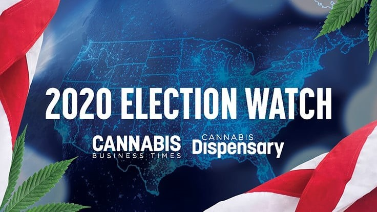UPDATE: 5 States Voting on Cannabis Legalization This November