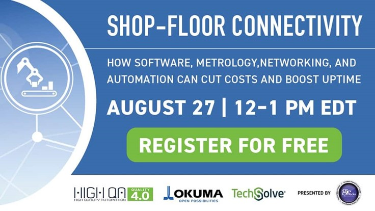 Shop-Floor Connectivity Webinar