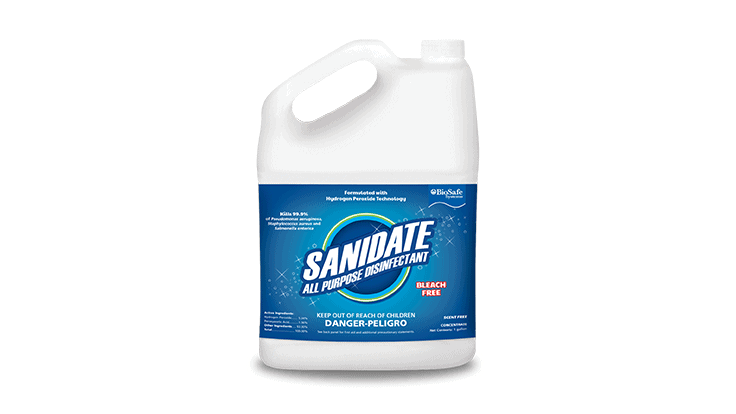 EPA approves SaniDate disinfectant to kill human coronavirus