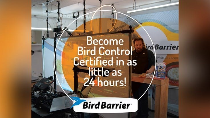 Bird Barrier Announces Upcoming Online Training