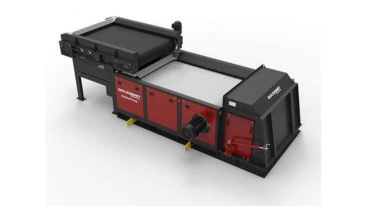 Goudsmit upgrades eddy current separator