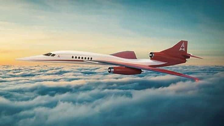 BAE flight controls picked for Aerion supersonic business jet