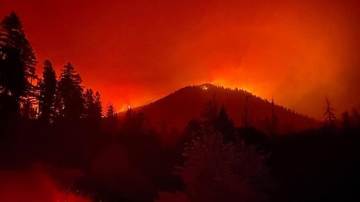 West Coast Wildfires Threaten and Destroy Some Cannabis Businesses, Force Evacuations