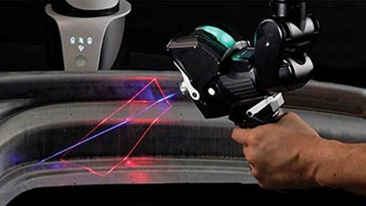 High-speed laser scanner