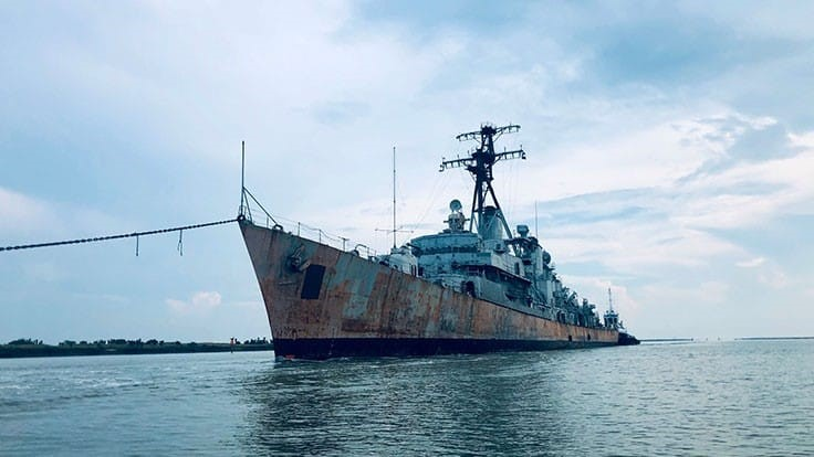 International Shipbreaking Ltd. to recycle the USS Charles F. Adams