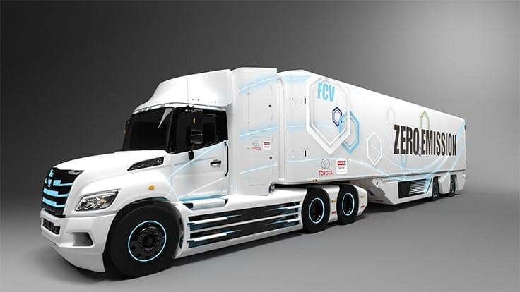 Hino Trucks and Toyota partner to develop electric truck for North American market