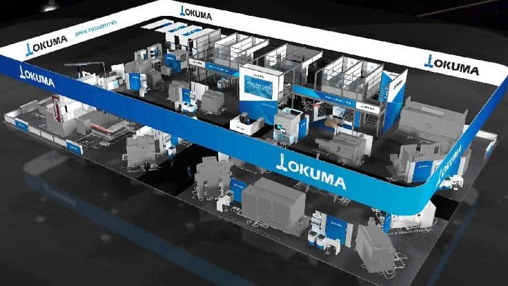 Okuma America Corp. debuts virtual, global showroom