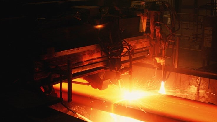 US steel production continues to increase