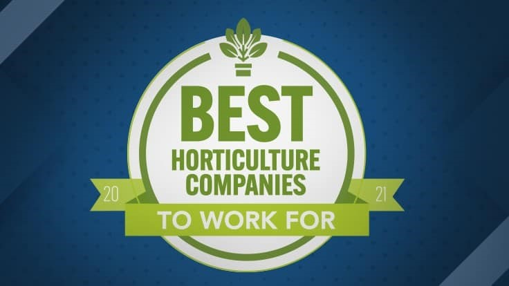 Announcing the Best Horticulture Companies to Work For Awards
