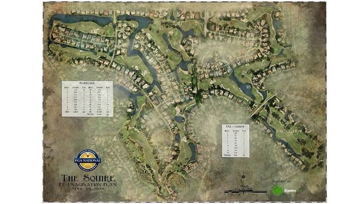 PGA National begins work on The Squire