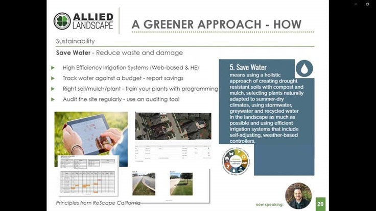 Leveraging technology to offer greener landscape management practices