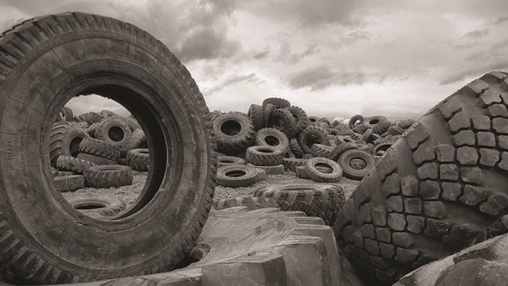 Scrap tire recycling markets not keeping pace with generation, report shows