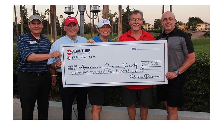 Agri-Turf Tournament Raises $70,000 for the American Cancer Society