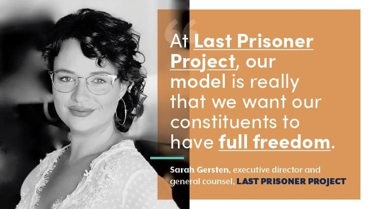 One Year Down at Last Prisoner Project: Q&A with Sarah Gersten, Part 1