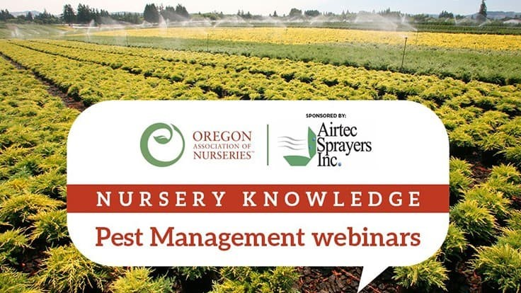 Oregon Association of Nurseries announces webinar series