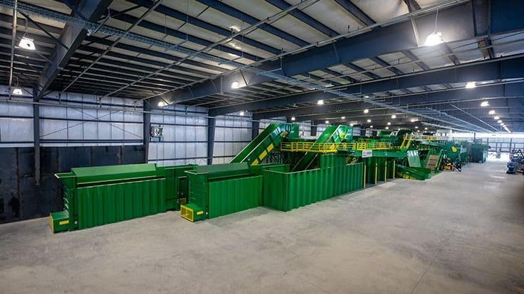 Green Machine: The Northeast's greenest recycling plant to launch in November
