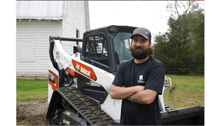 Doosan Bobcat presents veteran with new compact track loader