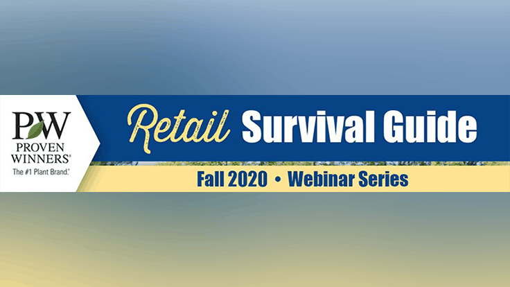 Sign up now for Proven Winners' Fall IGC Webinar Series