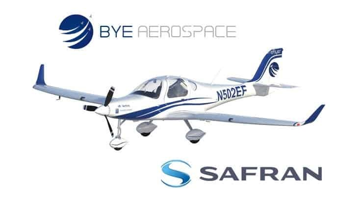Safran to supply Bye Aerospace with electric smart motors