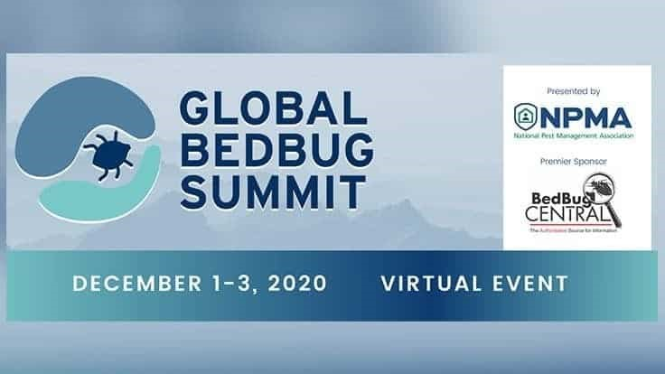 Early Bird Registration Extended for the 2020 Global Bed Bug Summit