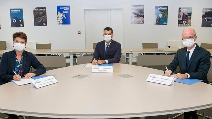 Michelin, Pyrowave sign agreement to accelerate plastic recycling technology