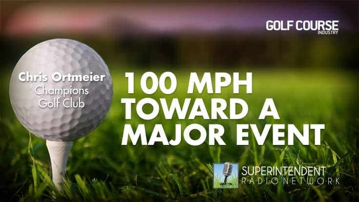 100 MPH Toward a Major Event