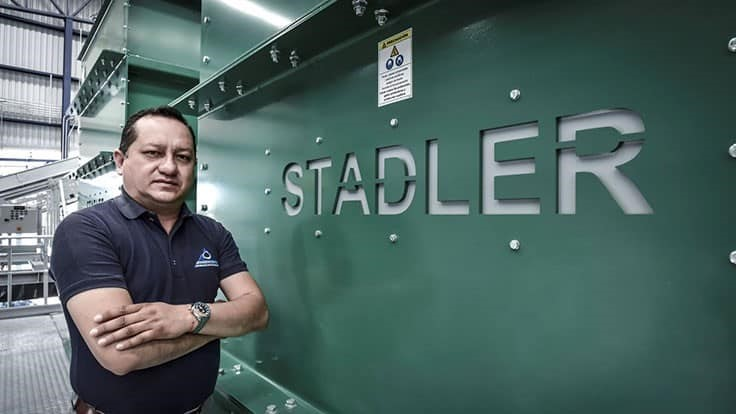 Stadler sorting plant starts in Mexico