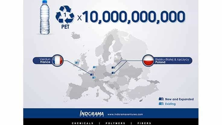 Indorama lays out European PET recycling plans