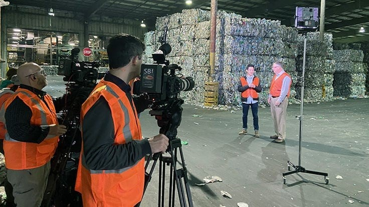 GPB features Mohawk's recycling process