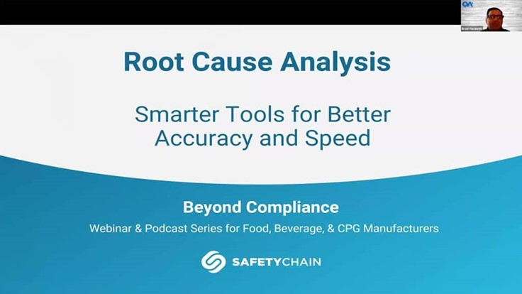 Webinar: Root Cause Analysis