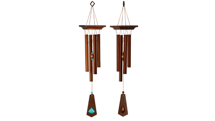 Woodstock Chimes launches new line with decorative rust finish and stone accents