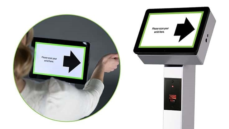 Frank Mayer and Associates, Inc. Announces New Contactless Wrist Temperature Kiosk