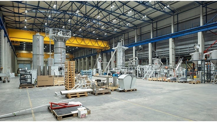 Starlinger doubles recycling plant production capacity
