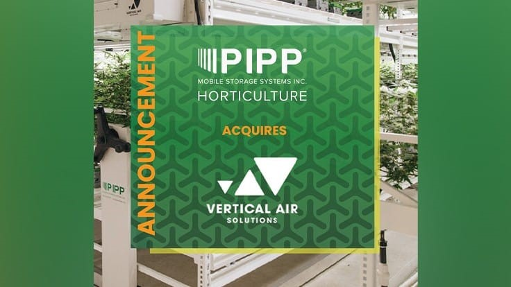 Pipp Horticulture acquires Vertical Air Solutions