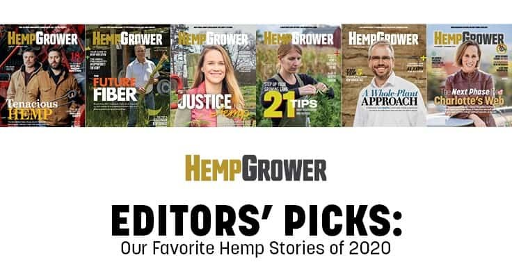 Hemp Grower Editors Pick Their Favorite Stories from 2020