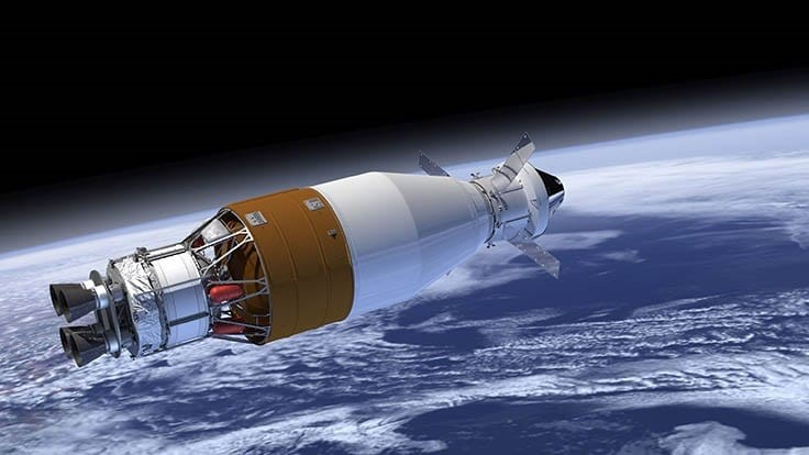 Space launch system upper stage passes critical design review